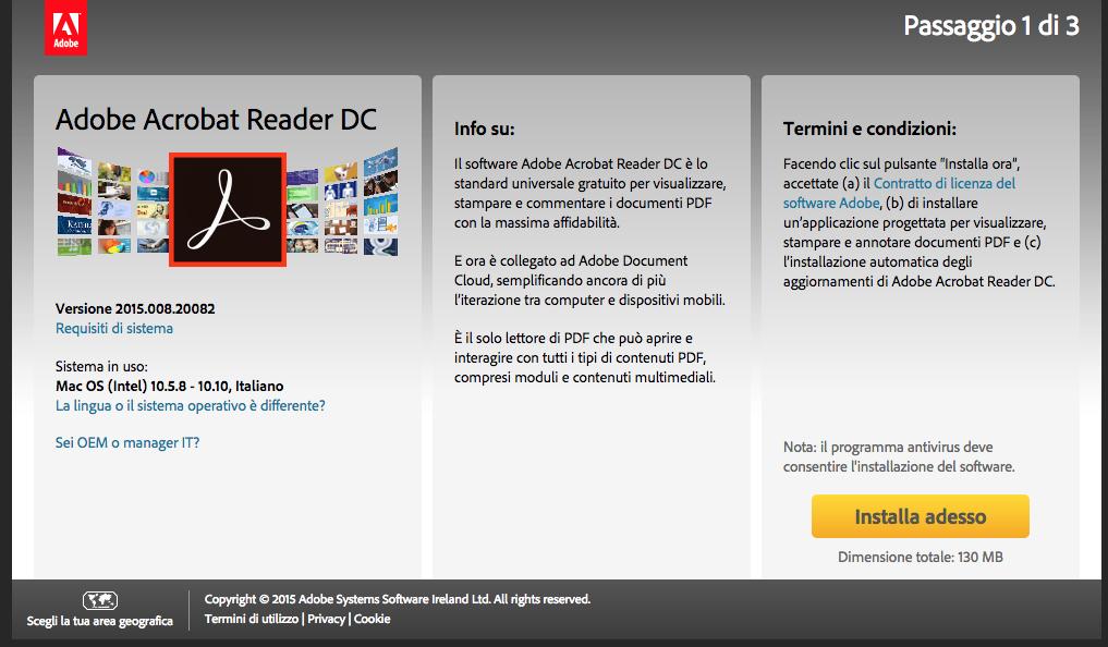 Come scaricare ed installare Adobe reader – lettore pdf gratuito