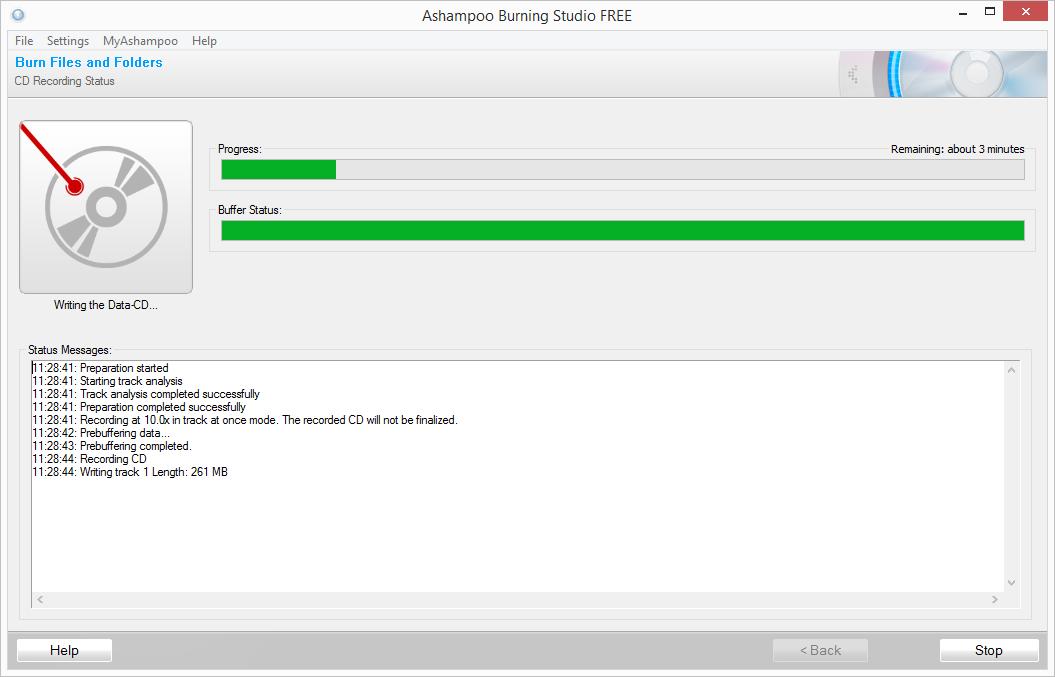 Programma per la masterizzazione di cd, audio,dvd,video e bluray completamente gratuito per Windows