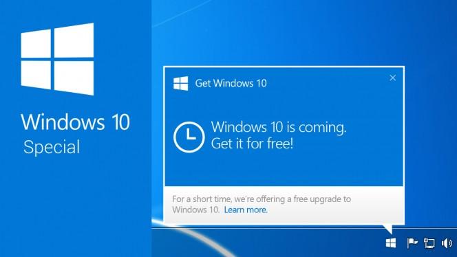Cosa fare se non trovo l'icona per aggiornare a windows 10?