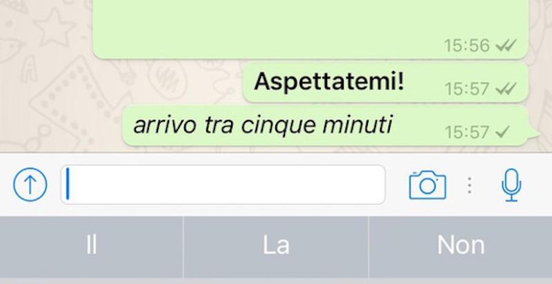 Scrivere su whatsapp in corsivo, barrato e grassetto! da oggi si puo!